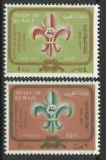 Postfrische Briefmarken aus dem mittleren Osten mit Pfadfinder-Motiv