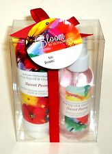 BLOOM By Olivia Grace Body Care Collection  Body Spray & Lotion SWEET PEONY NIB
