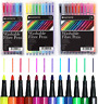 1/12/18/24 Easynote Washable Coloured Fibre Pens Felt Tips Markers Colouring Set