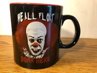 IT We All Float Down Here RARE Pennywise 20 Oz. Coffee Mug Cup NEW Stephen King