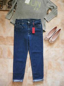 Cambio Jeans Pearlie dunkelblau Gr. 42 (-40) stretchig NP 139 Euro
