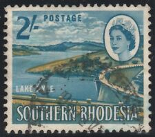 Southern Rhodesia 1964 QEII Definitive Series 2 Shilling SG 101 (Used)  a118