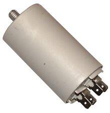 Condensateur permanent de travail pour moteur 20µF 425V avec cosses 6,3mm