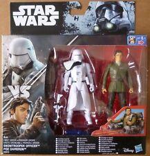 STAR WARS - Rogue One - Snowtrooper Officer VS Poe Dameron - HASBRO 2016 - NEUF