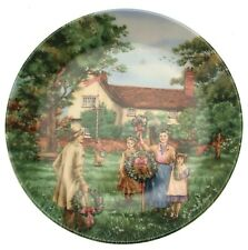 Wedgwood May Day The Village Green series by Petula Stone CP459