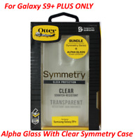 OEM OtterBox Alpha Glass Screen & Clear Symmetry Case for Samsung Galaxy S9+Plus