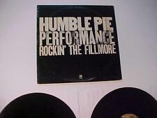 OLD Rock Roll Music Record Album ~HUMBLE PIE LIVE~Vintage Vinyl Disc LP SET 1971
