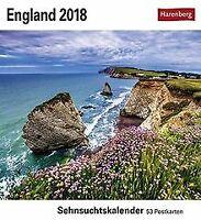 England - Kalender 2018: Sehnsuchtskalender, 53 Pos... | Buch | Zustand sehr gut