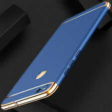 For Huawei  P9 Lite Luxury Electroplate Hard PC Back Case Skin Cover Blue