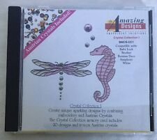 Amazing Designs Crystal Collection Embroidery Design Card Bmcs-Cc1 baby lock
