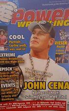 Power Wrestling 7/2005 WWE WWF TNA + 4 Poster (HHH, Edge & Lita, Angle, Viscera)