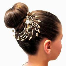 Hair Combs Ladies Fashion Accessories Diamante Slides Clips Head Pieces Bridal