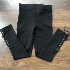 Solid Black Leggins Size M
