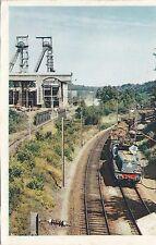 BF25666 train de mineral sur l artere nord est electrif france  front/back image
