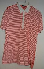 PAUL SMITH SMART DESIGNER FITTED STRIPED LIGHTWEIGHT POLO SHIRT M