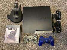 Sony Playstation 3 PS3 Slim Console CECH-2501A 160GB + Controller & 5 Games