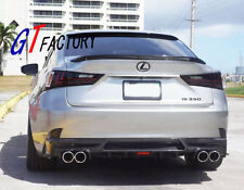 FOR 2013+ LEXUS IS250 IS350 IS300h F-SPORT CARBON REAR DIFFUSER SPOILER SK STYLE