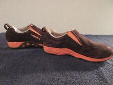 Merrell Select Grip Youth Shoes. Brown/Orange Suede Size:Us 2 .