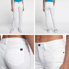 Nike Dry Women's Woven Trousers, White, Size 6