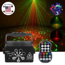 240 Patterns Projector Led Rgb Laser Stage Light Dj Disco Ktv Halloween Lighting