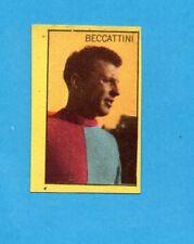 BECCATTINI - FIGURINA CARTONATA CALCIATORI STELLA/BOVOLONE anni 60 -NEW