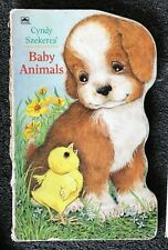 Cyndy Szekeres' Baby Animals A Golden Sturdy Shape Book 1994 Free Shipping in US