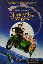 (Eine zauberhafte Nanny 2) Nanny McPhee and the Big Bang US Movie Poster rolled