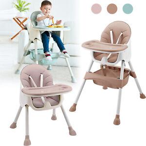 Kinderstuhl Babystuhl Hochstuhl Verstellbar Esszimmer Kindersitzgruppe Essstuhl