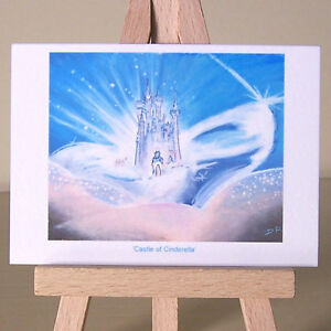 Prince's Castle of Cinderella WDCC drawing ACEO art