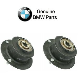 For BMW 2500 2800 530i 633CSi Pair Set of Front Left+Right Strut Mounts Genuine