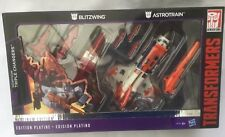 TRANSFORMERS PLATINUM EDITION TRIPLE CHANGERS BLITZWING AND ASTROTROTRAIN - NEW