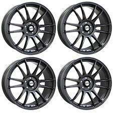 4 x Calibre Suzuka Gunmetal Alloy Wheels - 17x7.5"