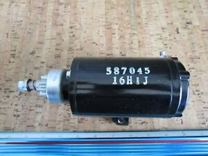 *NEW OEM* 0720P20 OMC Johnson Evinrude Starter Motor Assembly 0587045
