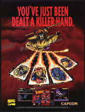 X-MEN: Mutant Apocalypse__Orig. 1994 print AD / game promo__Super Nintendo__SNES