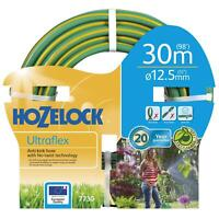 Hozelock 30m Ultraflex Hose, 12.5mm Flexible Anti-Kink No-Twist Garden Hose Pipe