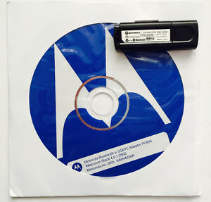 NEW ORIGINAL MOTOROLA PC850 BLUETOOTH DONGLE USB UNIVERSAL BLACK PC ADAPTER