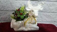 Russ Christmas deer figurine