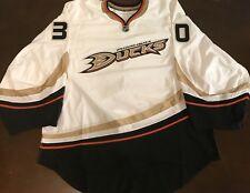 Rare Vintage Reebok NHL Anaheim Ducks Jason Labarbera Goalie Hockey Jersey
