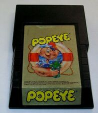 INTELLIVISION POPEYE VIDEO GAME CARTAGE BY PARKER BROTHERS 1983