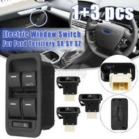 Illuminated Power Master + 3 Single Window Switch For Ford Territory SX SY SZ