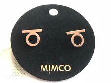 Mimco Charmer RoseGold Stud RRP 49.95
