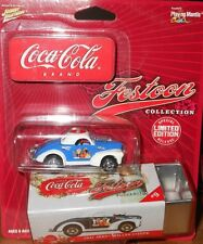 JOHNNY  LIGHTNING 1941 JEEP  WILLYS  COUPE,LIMITED EDITION COCA-COLA  BRAND 2003
