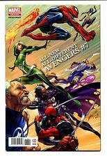 All New All Different Avengers #7 J Scott Campbell La Mole Spanish Variant 9.2