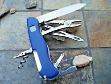 Victorinox Swiss Army Knife, Skipper Lockblade Blue Victorinox 53663  New In Box