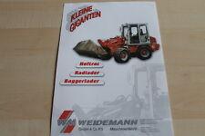 139701) Weidemann Hoftrac Radlader Baggerlader Prospekt 200?