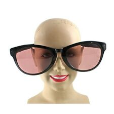 Jumbo Clown Sunglasses Black Giant Costume Sunglasses