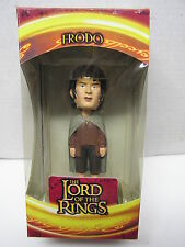 2002 Upper Deck Lotr The Two Towers Bobble Head Figure-Frodo Mib!
