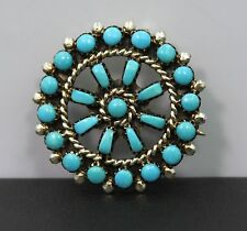 Sterling Silver Turquoise Pin/Brooch