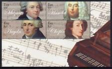 IRELAND MNH 2009 SG1975 Classical Composers Minisheet
