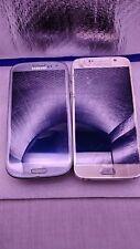 Lot 2 Samsung Galaxy s7 At&t & S iii unlocked phone 32GB + battery + lot 3 case